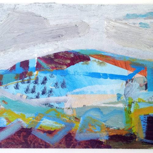 Liz Hough - Trencrom Morning (Hungerford Gallery)