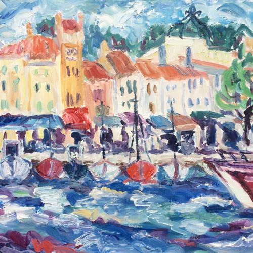 Fi Katzler - Cassis Boats II