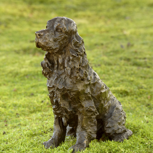 Rosemary Cook - Polly (Cocker Spaniel) Life size
