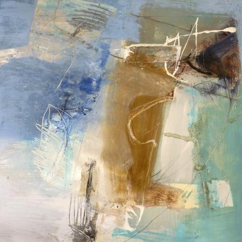 Chris Sims - Senor Blue (Framed) Hungerford Gallery