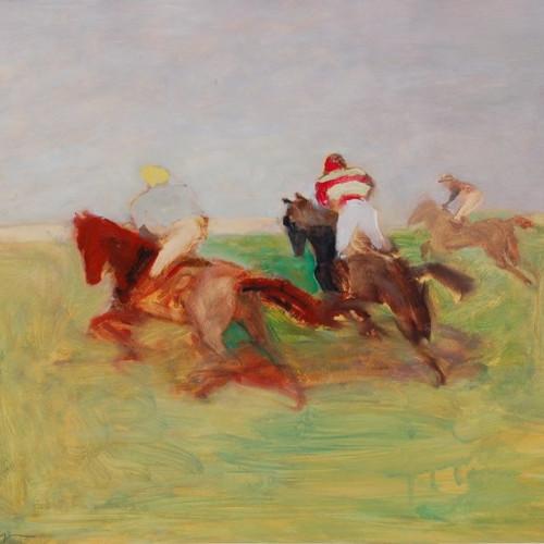 Antoine de La Boulaye - Across the Heath (Framed) (Hungerford Gallery)