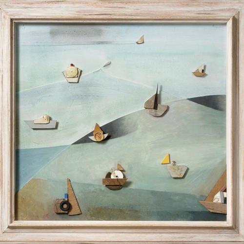 Keith Purser - Regatta 1994 (framed) (Hungerford Gallery)