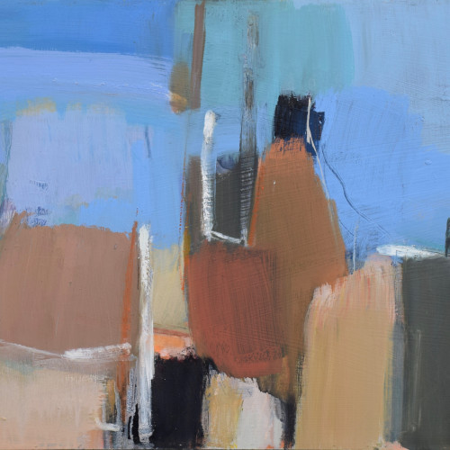 Dafila Scott - Into the Blue (Hungerford Gallery)