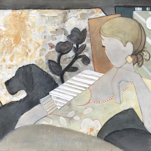 Judy Hulbert - On Guard (Hungerford Gallery)