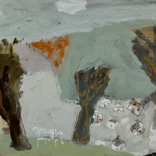 David Pearce - View across the Valley (London Gallery)