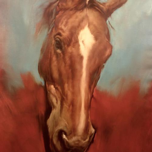 Michael J Austin - Visage (Hungerford Gallery)