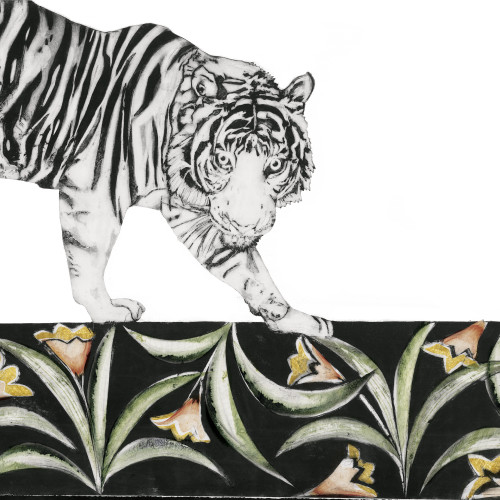 Beatrice Forshall - Bengal Tiger (Framed)