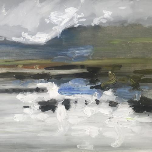 Richard Colson - Rannoch Moor Loch I (Hungerford Gallery)
