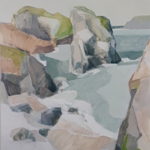 Myles Oxenford - Kynance Cove (Hungerford Gallery)