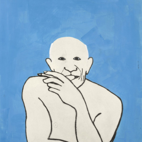 Kate Boxer - Picasso (Framed) (Hungerford Gallery)