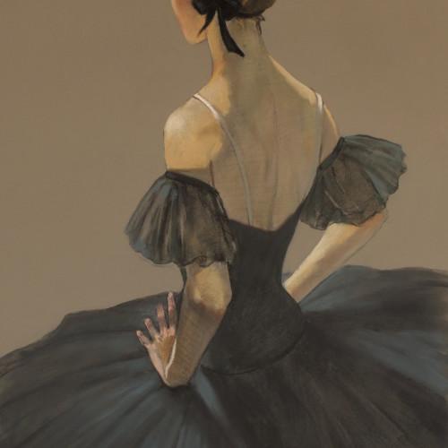 Katya Gridneva - Black Swan (Hungerford Gallery)