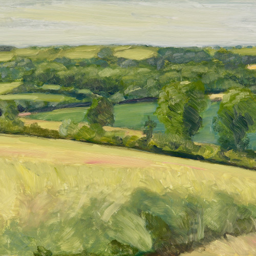 Celia Montague - July near Charlbury (London Gallery)