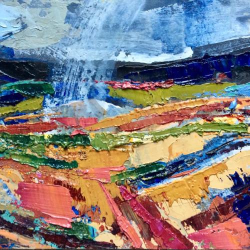 Emma Haggas - Rain Storm (Hungerford Gallery)