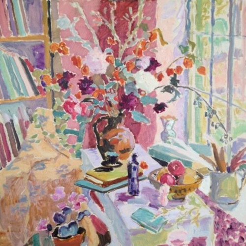 Hugo Grenville - The Last Dahlias - Autumn Still Life II