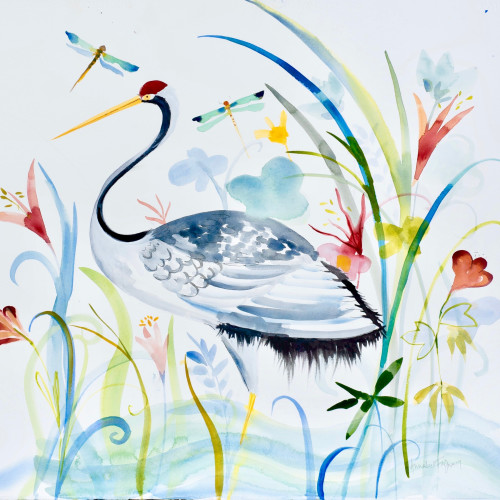 Annabel Fairfax - Heron I (Hungerford Gallery)