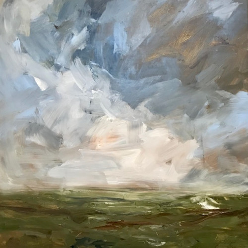Louise Balaam - Light Coming Up, Carn Brea (Hungerford Gallery)