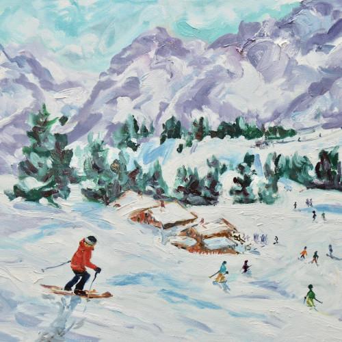 Fi Katzler - Run down to Lunch (Hungerford Gallery)