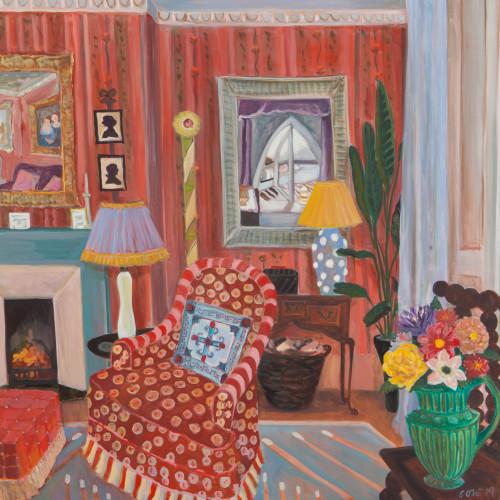 Lottie Cole - Interior with Winifred Nicholson (London Gallery)
