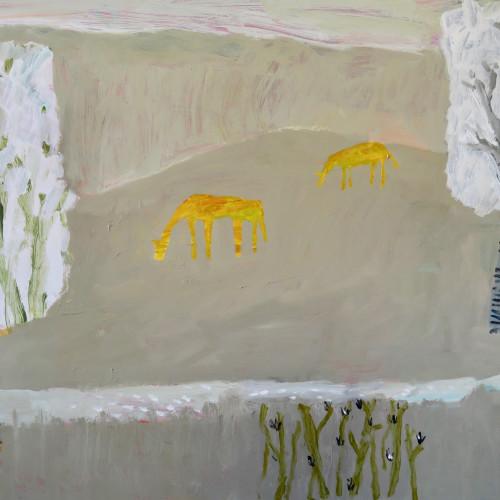David Pearce - Grazing Amongst the Silver Birch (London Gallery)
