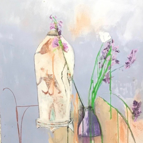 Felice Hodges - Violet and Mauve (Hungerford Gallery)