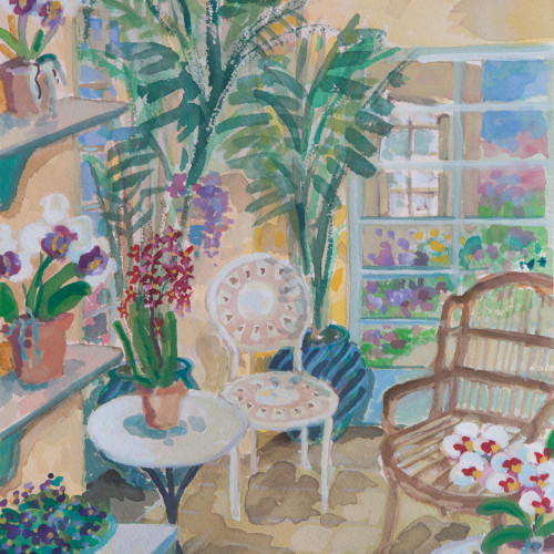 Lottie Cole - Orangery Interior (Hungerford Gallery)