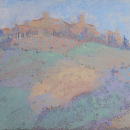 Hermione Owen - Tuscan Village (Hungerford Gallery)