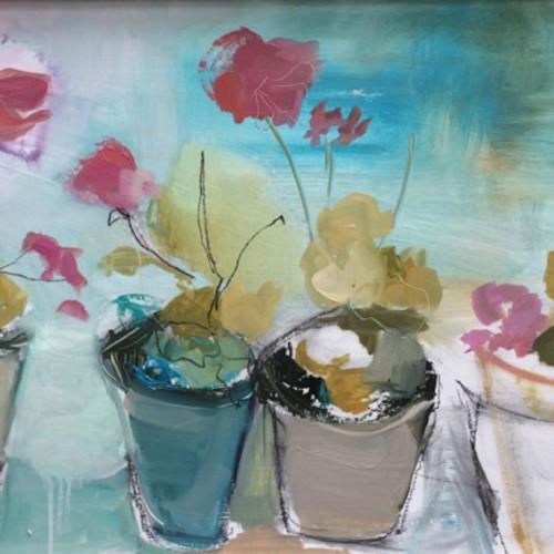 Jo Vollers - Hydrangeas (London Gallery)
