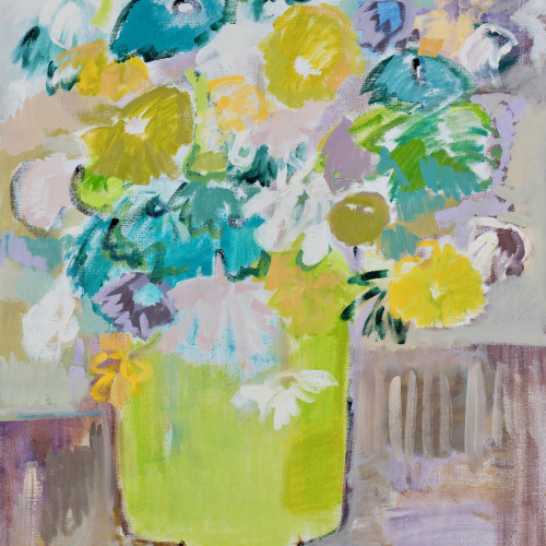 Bridget Lansley - A Slice of Lime (London Gallery)