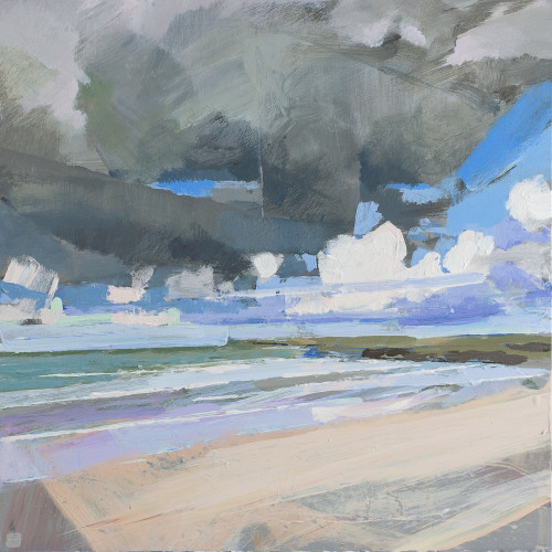 Andrew Jago - Harlyn Beach No. 4 (Hungerford Gallery)