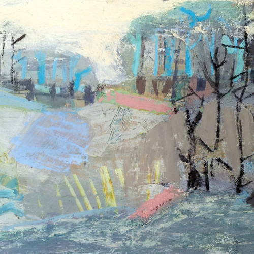 Liz Hough - River Walk (Hungerford Gallery)