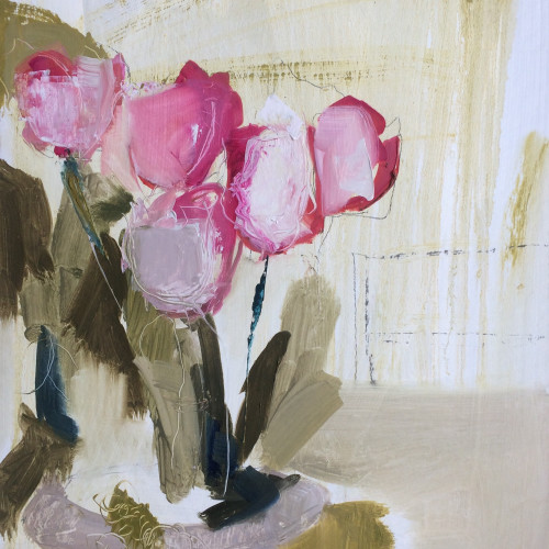 Jo Vollers - Bedwyn Tulips (Hungerford Gallery)