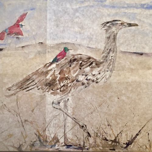 Christine Seifert - Bird-Ride (Hungerford Gallery)