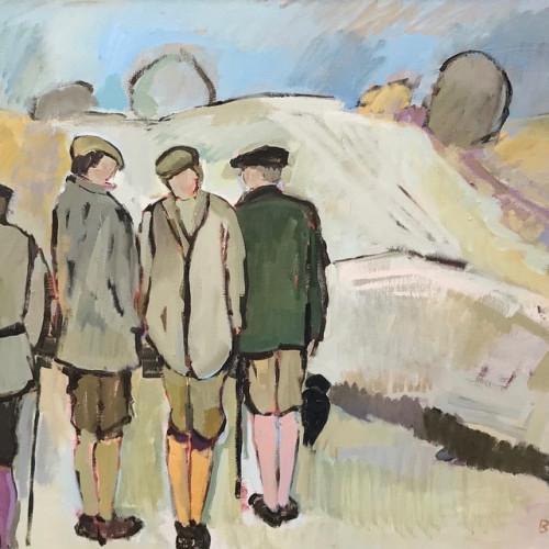 Bridget Lansley - Pausing (Hungerford Gallery)