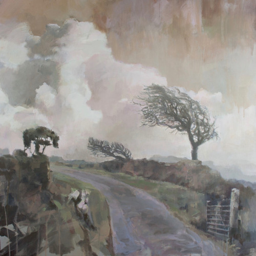 Andrew Jago - Bodmin Moor (Hungerford Gallery)
