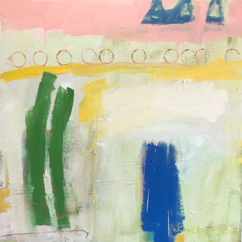 Chloë Lamb - All in a Row (Hungerford Gallery)