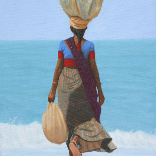 Mark Clark - Fruit Seller, Goa