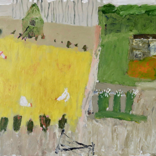 David Pearce - Scratching About (Hungerford Gallery)