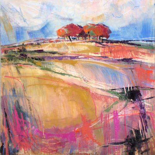 Emma Haggas - Autumn on Pickpit Hill