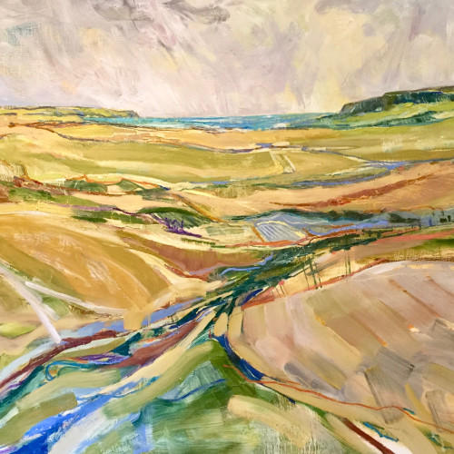 Emma Haggas - View to the Sea (Hungerford Gallery)