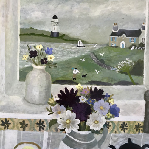 Sarah Bowman - Blustery Day (Hungerford Gallery)