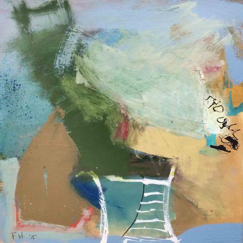 Felice Hodges - Gate Posts, 2016 (Unframed)