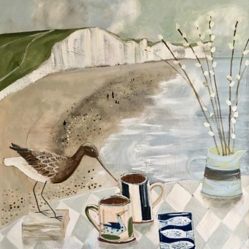 Kim Langford - Still Life at Beachy Head (Hungerford Gallery)
