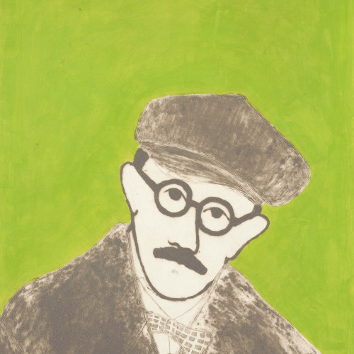 Kate Boxer - James Joyce (Mounted)