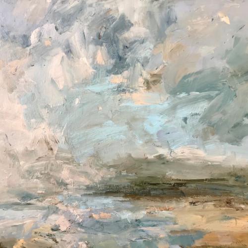 Louise Balaam - Pale Turquoise, Shieldaig (London Gallery)