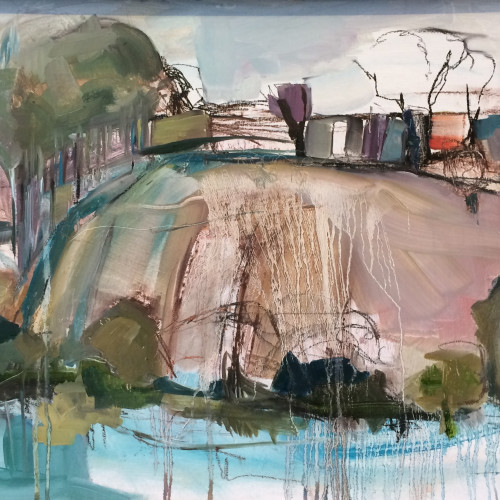 Jo Vollers - Above the River Otter