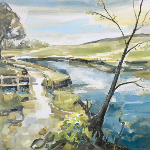 Kate Rhodes - Spring in the Air (Hungerford Gallery)