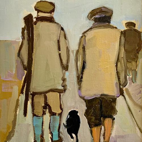 Bridget Lansley - In Conversation II (Hungerford Gallery)