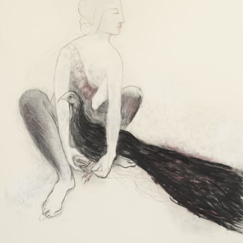 Alice Maher,The Bird Mistress (for janet), 2020