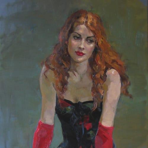 Oil on Canvas Painting by Katya Gridneva