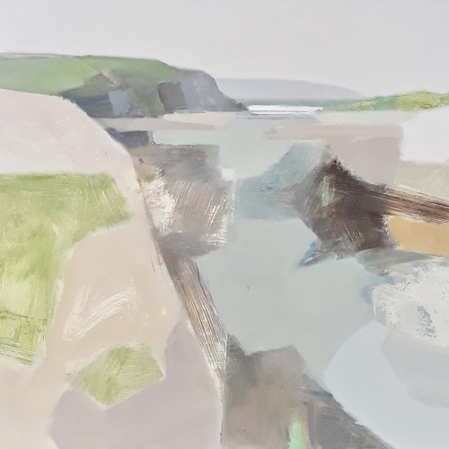 Myles Oxenford - Hayle River Mouth towards St. Ives